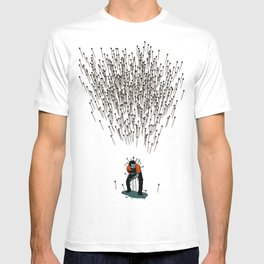 Stop Wasting Arrows And Aim For Its Head, You Damn Fools! V2 T-shirt