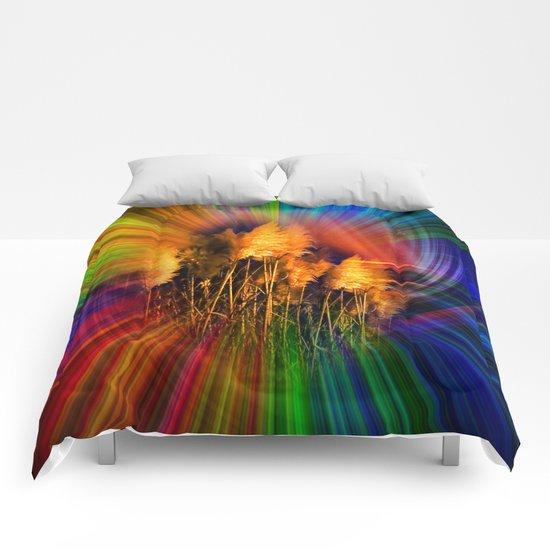 autumn impression Comforters