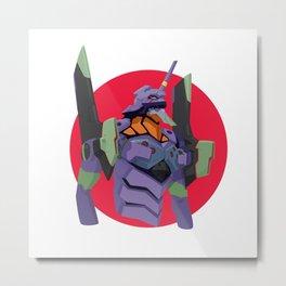 Evangelion | Eva-01 Metal Print
