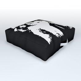 PET POODLE DOG Outdoor Floor Cushion