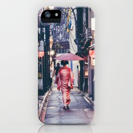Geisha In Kyoto iPhone Case