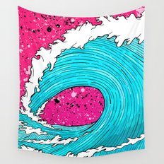 The Sea's Wave Wall Tapestry