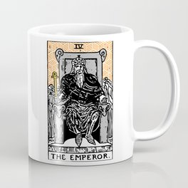 Geometric Tarot Print - The Emperor Coffee Mug