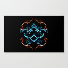 The Electrified Colors - Digital Work Canvas Print