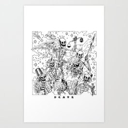 Democratic Dead Art Print