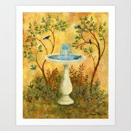 Peace Garden Art Print