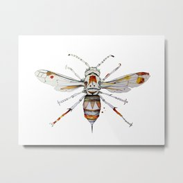 Wasp Metal Print