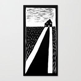 Casa cappuccetto  Canvas Print