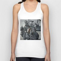 hook Tank Tops featuring Hook Up by Andy Depp