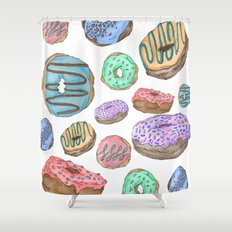 Mmm, Donuts Shower Curtain