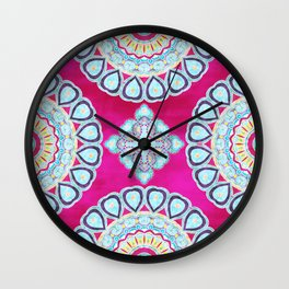 The Wind Knows My Heart Wall Clock