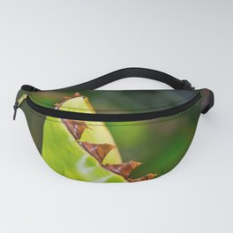 Spikes on the leaf Fanny Pack