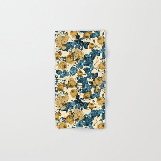 80's summer garden Hand & Bath Towel