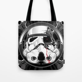 Storm has Ended Tote Bag
