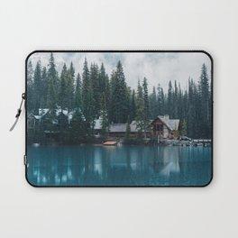 Emerald Lake Lodge II Laptop Sleeve