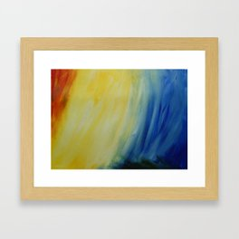 Abstract Sea Framed Art Print