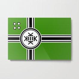 Kekistan Flag Metal Print