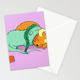 Dinku and Furret Stationery Cards