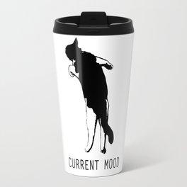 Current Mood Cat Travel Mug