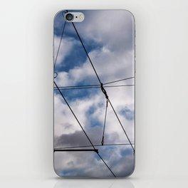 The SKY over BERLIN iPhone Skin