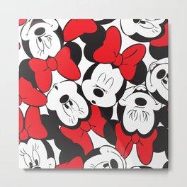 Minnie Mouse No. 12 Metal Print