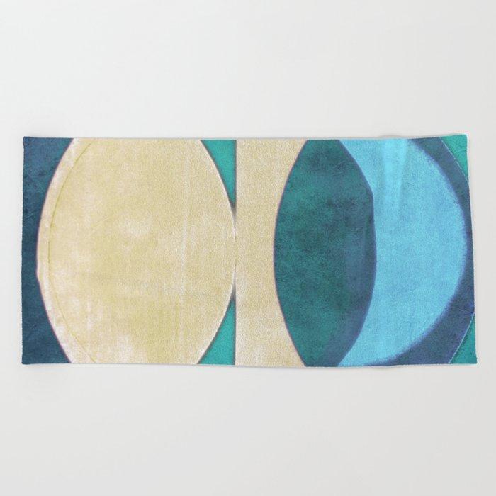 Waxing Crescent Beach Towel