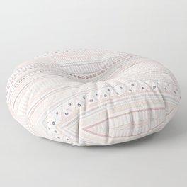 Blush & Grey Watercolour Pattern Floor Pillow