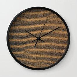 Beach Sand Texture Wall Clock