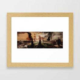 Queens of Darkness Megaposter Framed Art Print