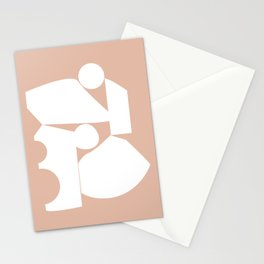 Shape study #16 - Inside Out Collection Stationery Cards