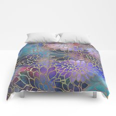 Floral Abstract 5 Comforters