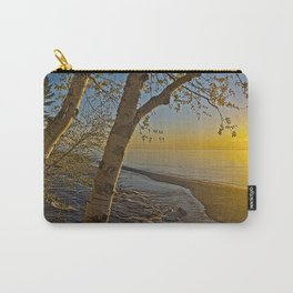 A Birch tree sunset Carry-All Pouch