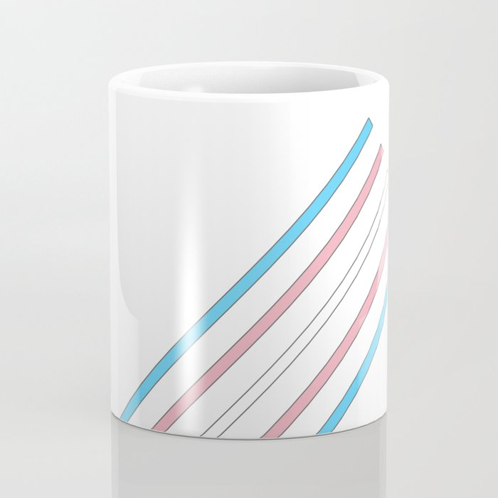 Transcend: On the Rise Coffee Mug