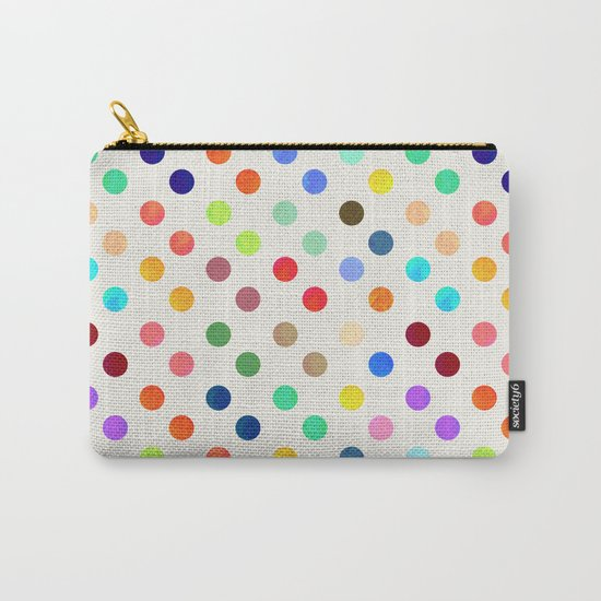 Polka Proton Carry-All Pouch