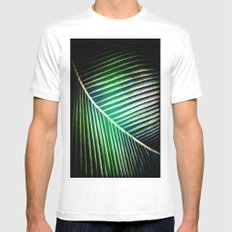 Green Collection MEDIUM Mens Fitted Tee White