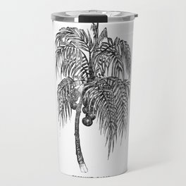 Coconut palm Travel Mug
