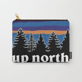 up north, blue & purple Carry-All Pouch