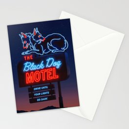 The Black Dog Motel Stationery Cards