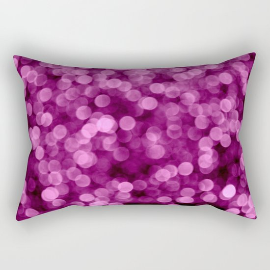 Purple Scrub  - JUSTART © Rectangular Pillow