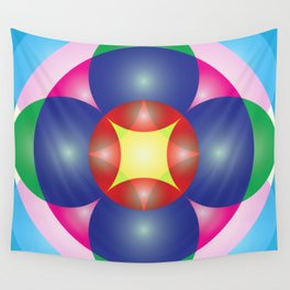 Atoms 27 Wall Tapestry