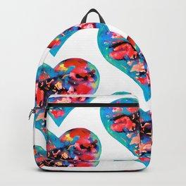 Tie-Dye Hearts Backpack
