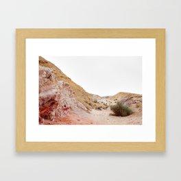 Red Desert Framed Art Print
