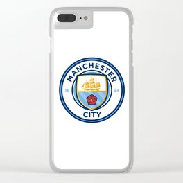 Manchester City Logo Clear iPhone Case