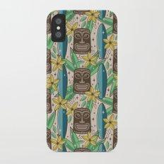 Tiki Garden iPhone X Slim Case