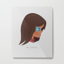 Not An Ordinary Girl  Metal Print