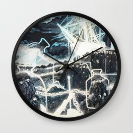 """""""Washed Ashore"""" Wall Clock"""