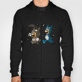 Super Totoro Bros. Alternative Hoody
