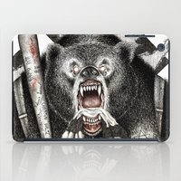 quentin tarantino iPad Cases featuring Inglourious Basterds (Quentin Tarantino) The Bear Jew by ARTbyGB