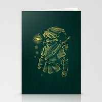 courage Stationery Cards featuring Courage by Patrick Zedouard c0y0te7