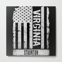 Staunton Virginia Metal Print